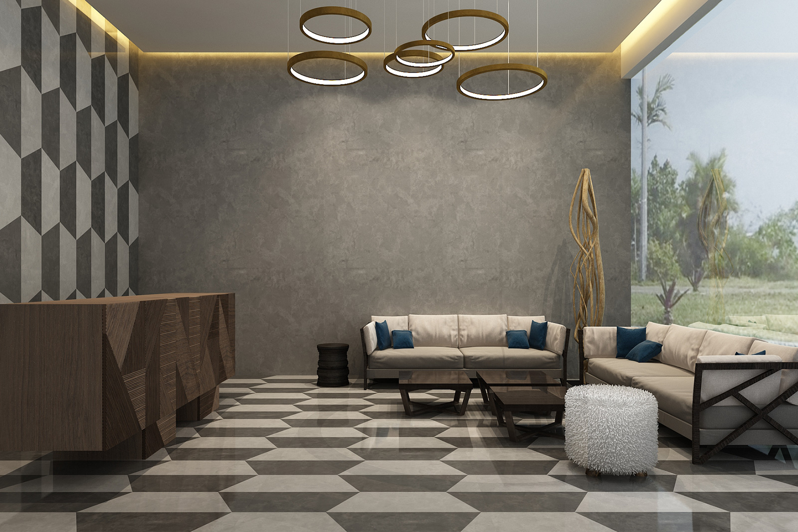 Exceptionnel Building Lobby Designed