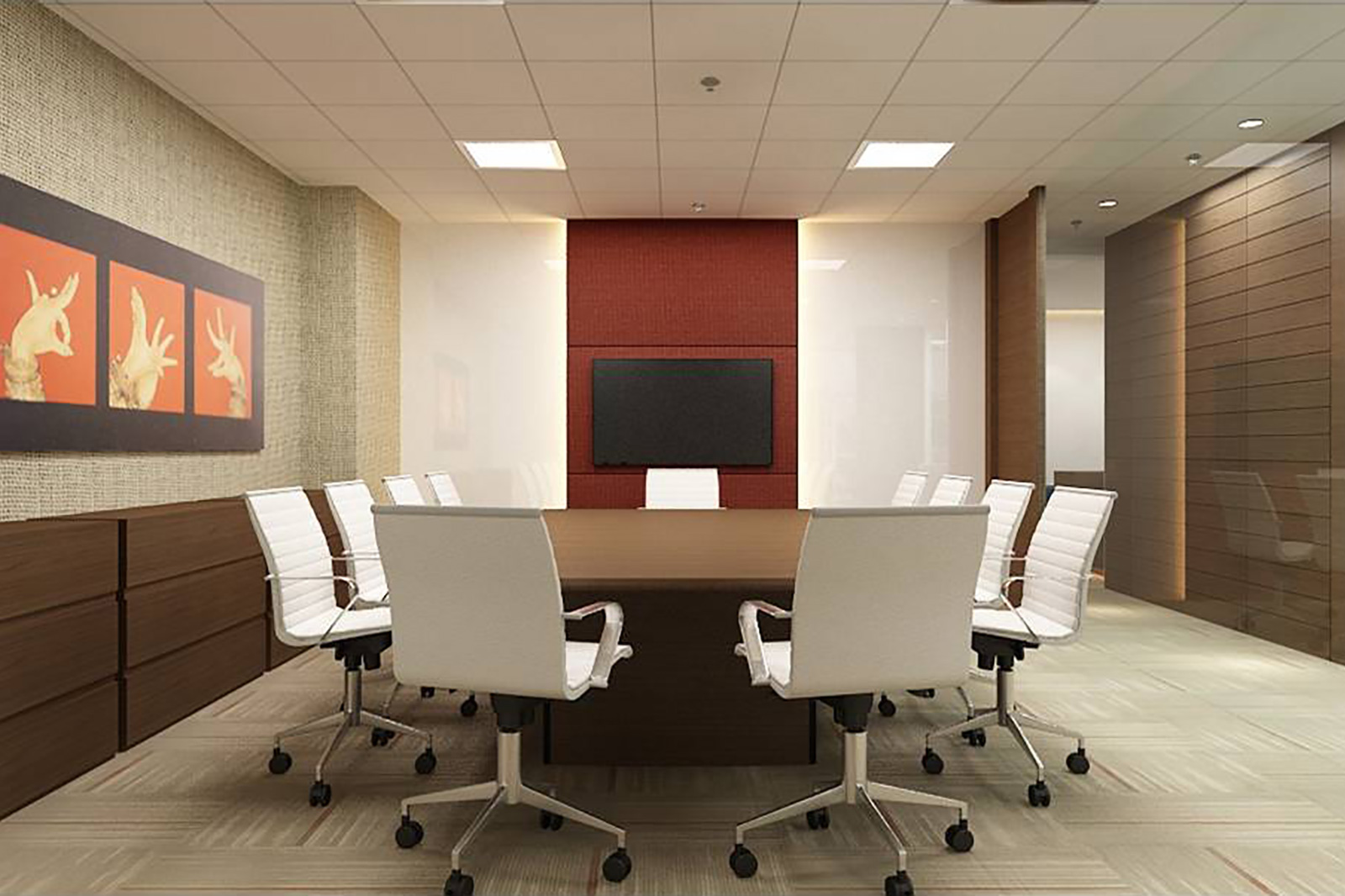 Superb Interiors For Officesu003c. Our Approach While Designing Commercial ...